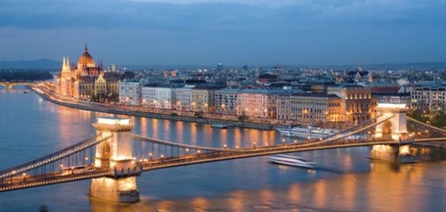أين تقع مدينة بودابست