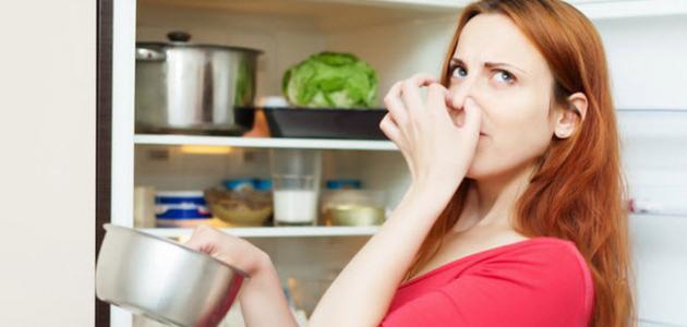كيف أتخلص من رائحة الثلاجة