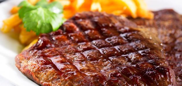 طريقة عمل لحم مشوي بالفرن
