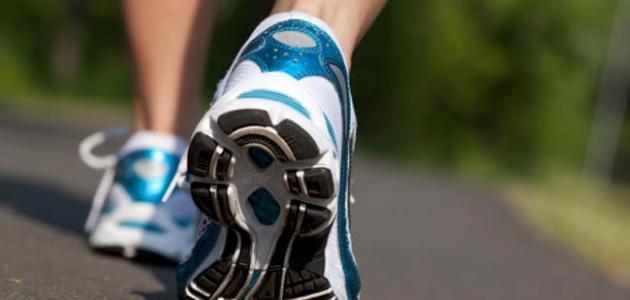 رياضة المشي والسعرات الحرارية