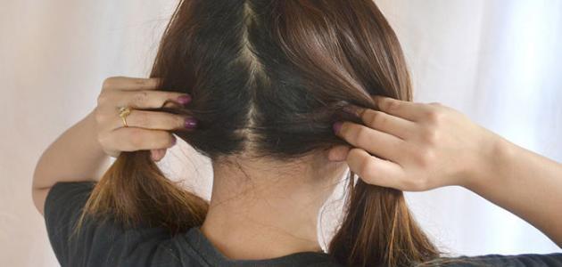 كم مدة وضع الزيت على الشعر