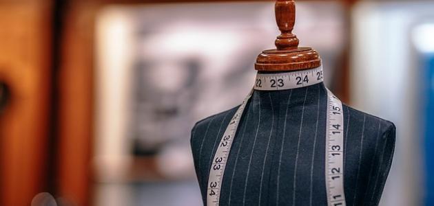 طريقة تفصيل فستان