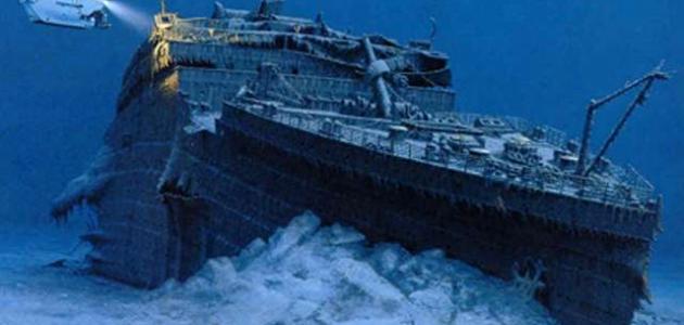 كيف غرقت سفينة التايتنك