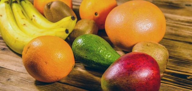أين يوجد فيتامين ب في الفواكه