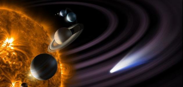 كيف تدور الكواكب حول الشمس