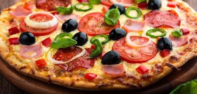 كيف تحضر البيتزا