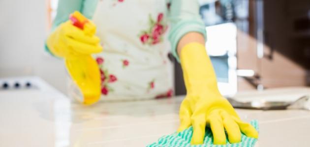 كيف أنظف بيتي من الغبار