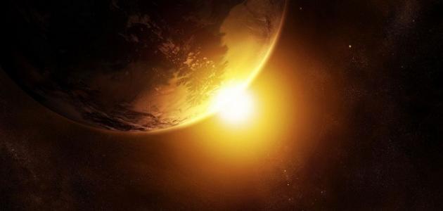 كيف تؤثر زاوية ميل أشعة الشمس في درجات الحرارة