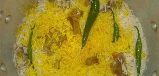 كيف أعمل أرز مندي