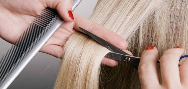 كيف أتعلم قص الشعر
