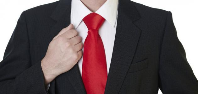 كيف يتم ربط ربطة العنق