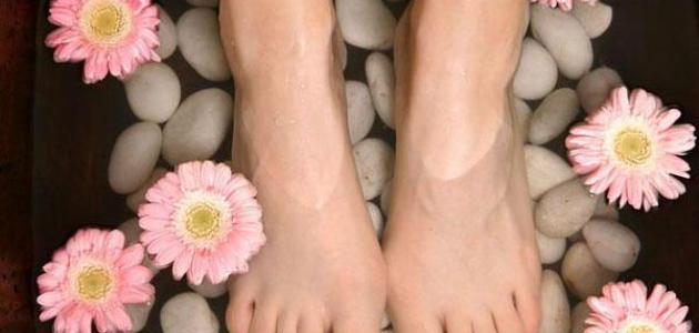 كيف تتخلص من رائحة القدمين
