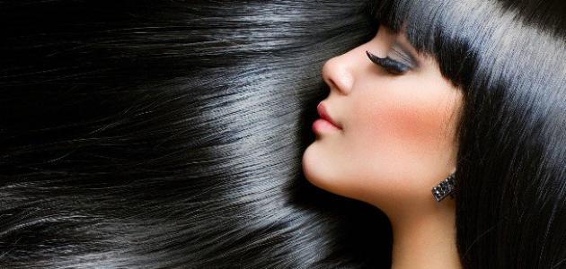 طريقة صبغ الشعر الأسود