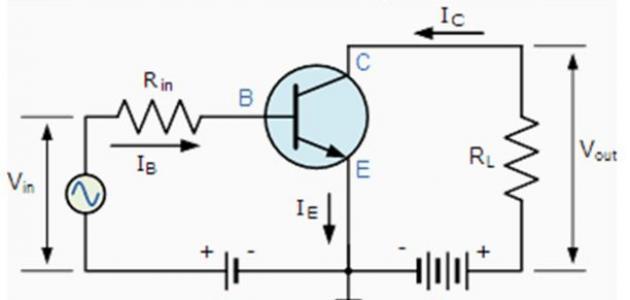 كيف يعمل الترانزستور كمفتاح كهربائي