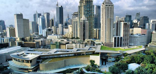 أين تقع مدينة مانيلا