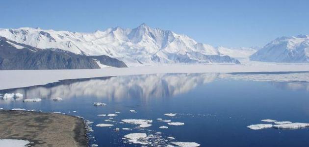 أين تقع قارة أنتاركتيكا