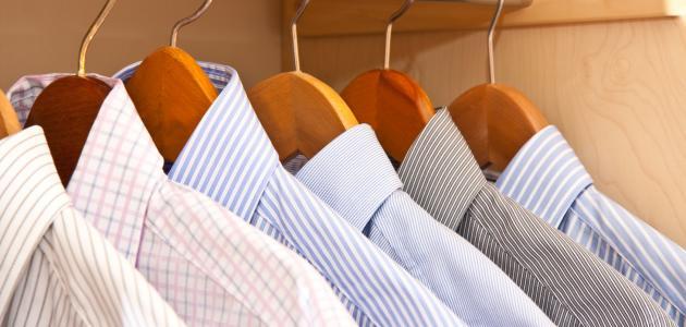 ترتيب خزانة الملابس