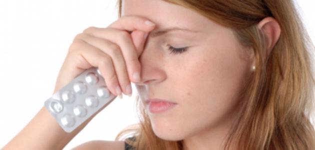 أعراض صداع الضغط