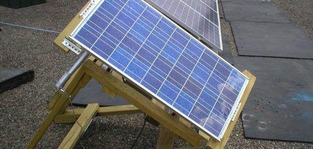 كيفية صناعة الواح الطاقة الشمسية