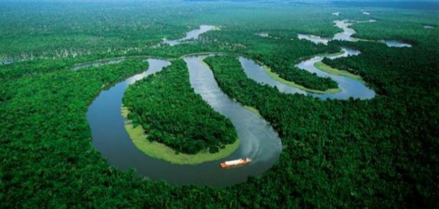 أين يصب نهر الأمازون