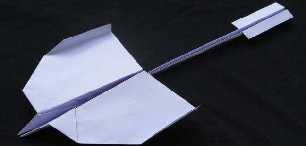 كيف تصنع طائرة ورقية تطير 10