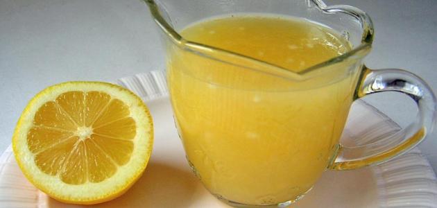 طريقة عمل خل الليمون