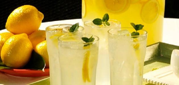 طريقة عصير ليمون