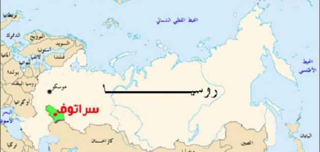 أين تقع روسيا على الخريطة