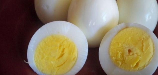 كيف أسلق البيض