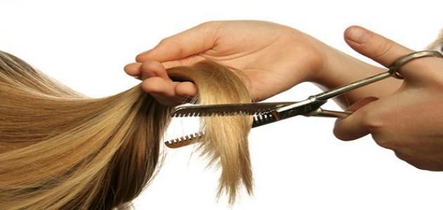 كيف أعالج تقصف الشعر
