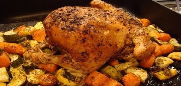 كيف أشوي الدجاج في الفرن