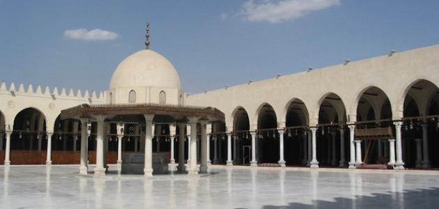 أين يقع مسجد عمرو بن العاص