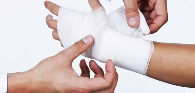 طريقة لعلاج الإصابات الحادة