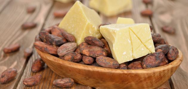 طريقة استخدام زبدة الكاكاو الخام
