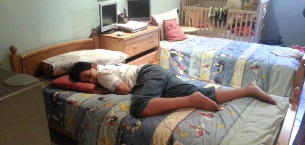 كيف أنام سريعاً