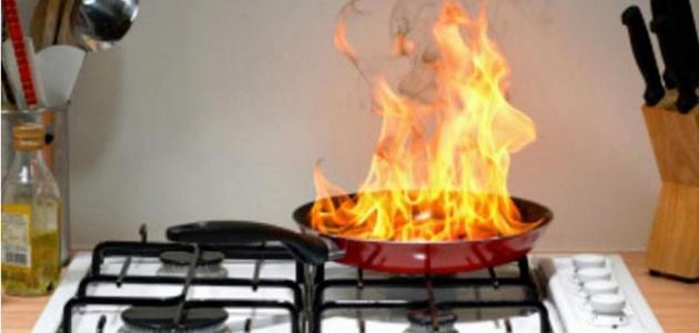 كيف يمكن تفادي حدوث الحرائق في المنزل