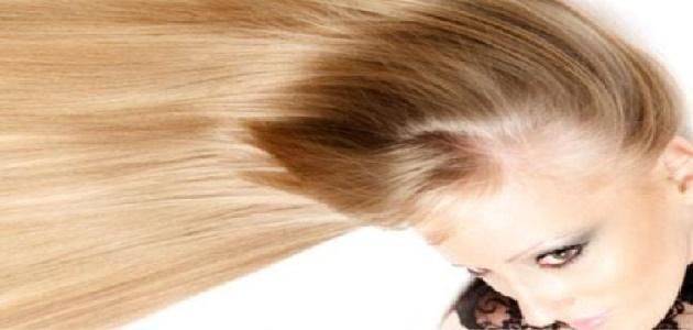 كيف أحصل على شعر أشقر