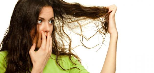 كيف أتخلص من رائحة الثوم في الشعر