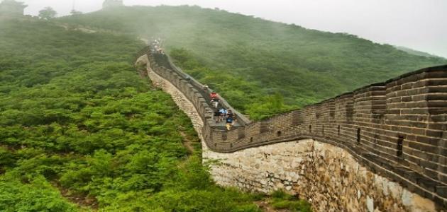 عجائب الدنيا السبع سور الصين العظيم