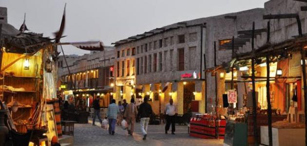 أين يقع سوق واقف في قطر