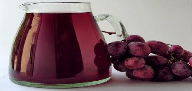 كيف يصنع خل العنب