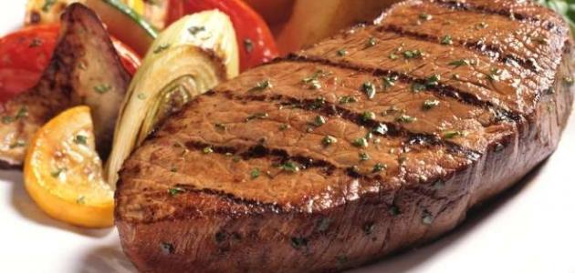 طريقة عمل ستيك لحم العجل