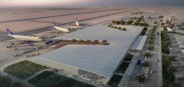 أين يقع مطار القصيم
