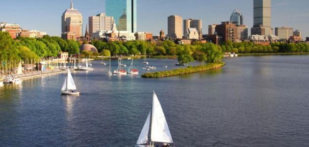 أين تقع مدينة بوسطن