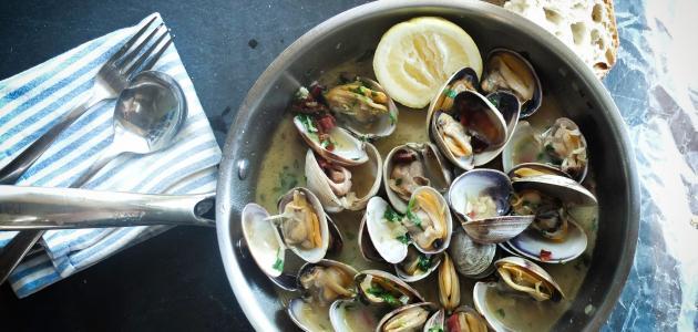 طريقة طهي فواكه البحر