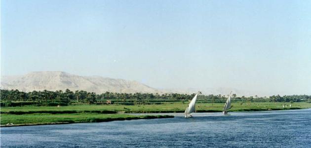 أين يوجد نهر النيل