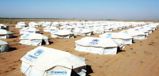 أين يقع مخيم الزعتري