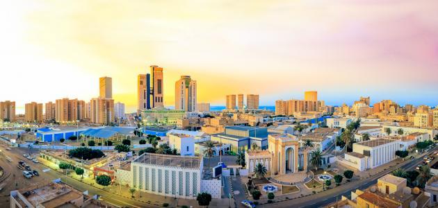 أين تقع مدينة طرابلس