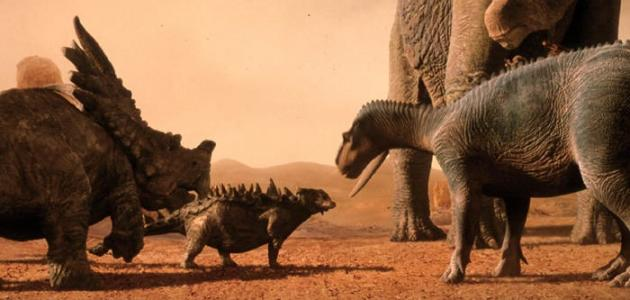 كيف انقرضت الديناصورات من الأرض