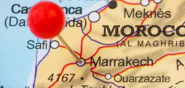 أين تقع مدينة مراكش